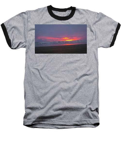 Sunset #9 Baseball T-Shirt