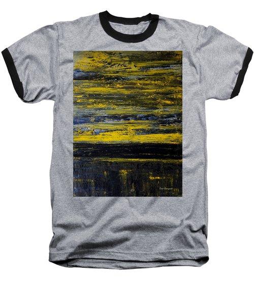 Sunset Abstract Baseball T-Shirt