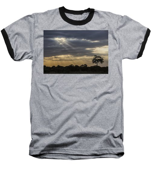 Sunset Africa 2 Baseball T-Shirt by Kathy Adams Clark