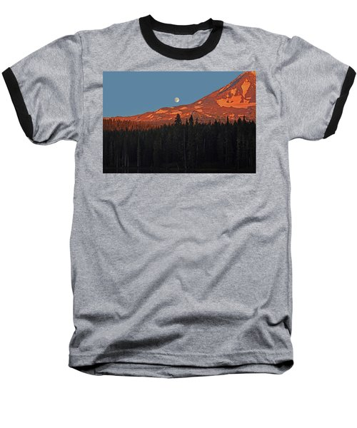 Baseball T-Shirt featuring the photograph Sunset And Sunrise At Mt Adams by Jack Moskovita