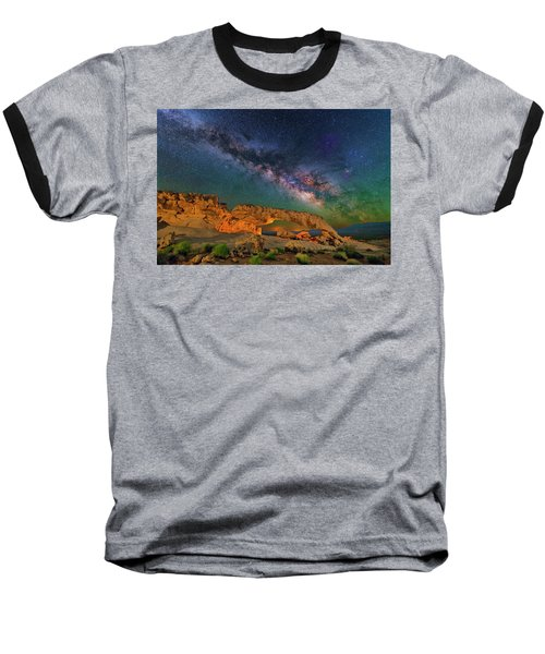 Sunset Arch Baseball T-Shirt
