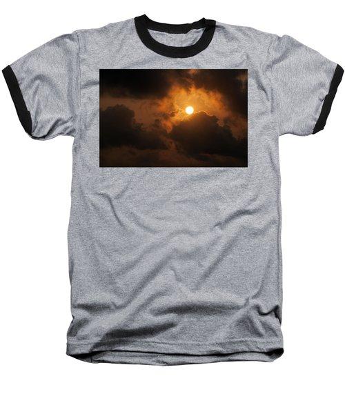 Sunset At Aruba Baseball T-Shirt