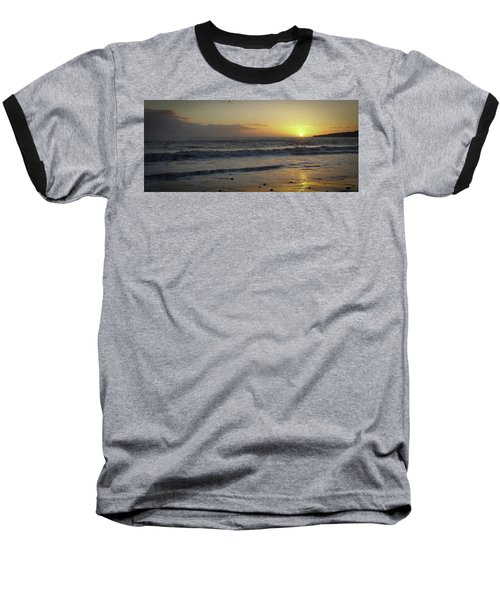 Sunset At Barry Baseball T-Shirt