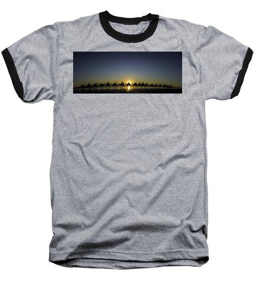 Sunset At Cable Beach Baseball T-Shirt