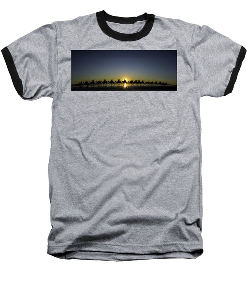 Sunset At Cable Beach Baseball T-Shirt