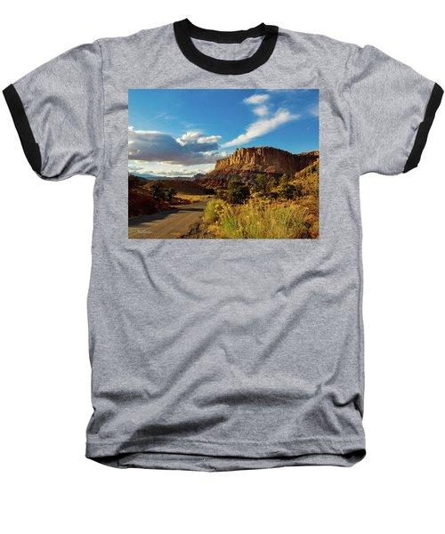 Sunset At Capitol Reef Baseball T-Shirt