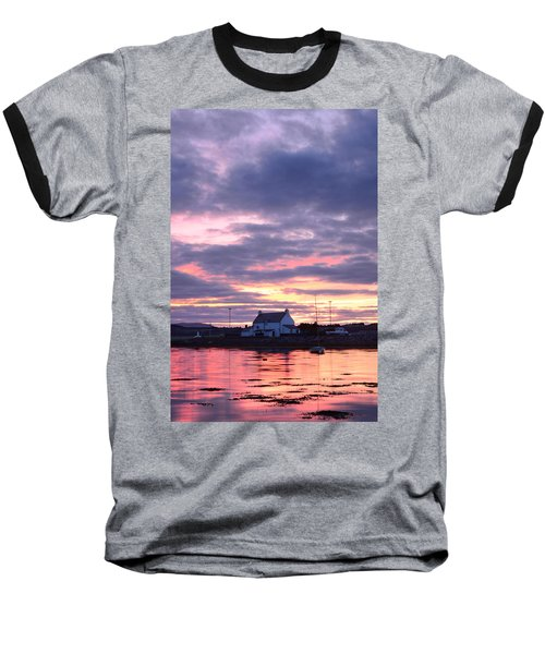 Sunset At Clachnaharry Baseball T-Shirt