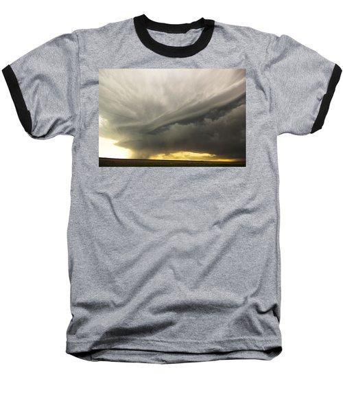 Sunset At Dalhart Texas Baseball T-Shirt by Ryan Crouse