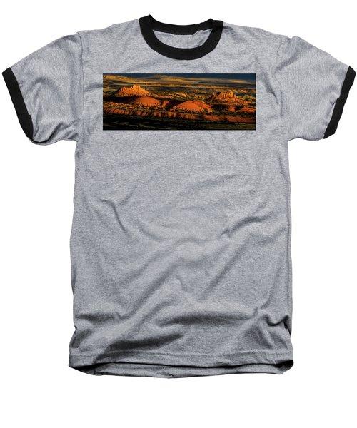 Sunset At Donkey Flats Baseball T-Shirt