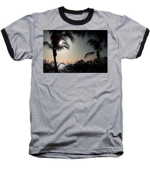 Baseball T-Shirt featuring the photograph Sunset At Flamingo 1 by Ellen O'Reilly