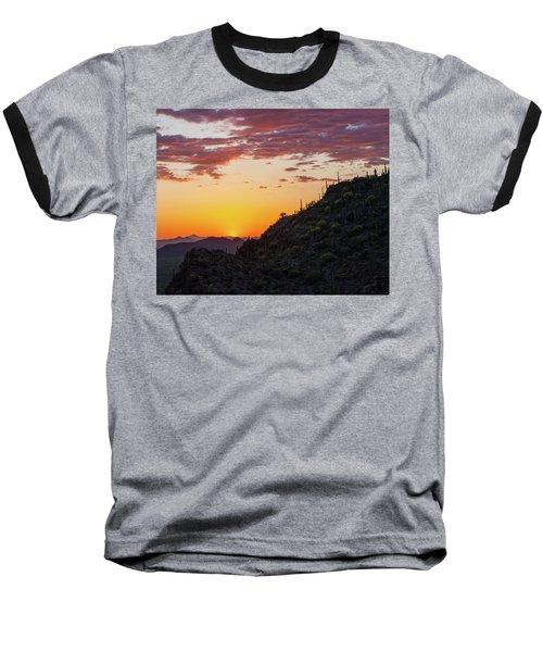 Sunset At Gate's Pass Baseball T-Shirt