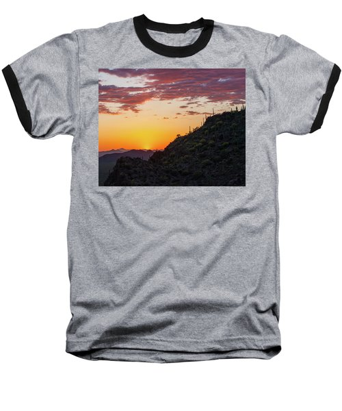 Sunset At Gate's Pass Baseball T-Shirt