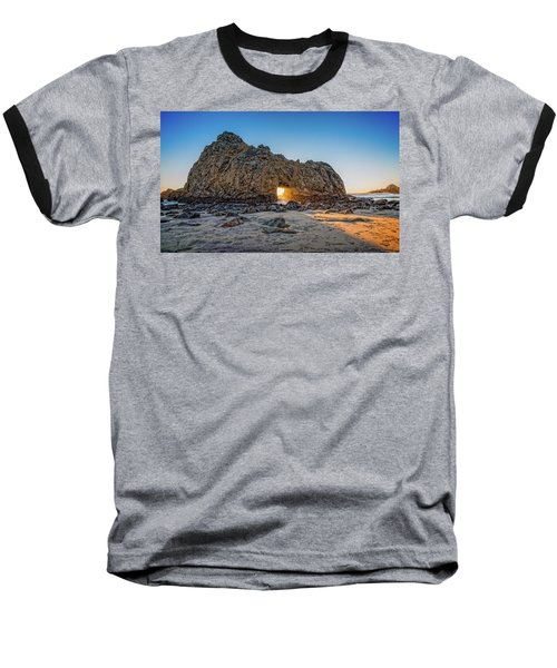 Sunset At Hole In The Rock Baseball T-Shirt by James Hammond