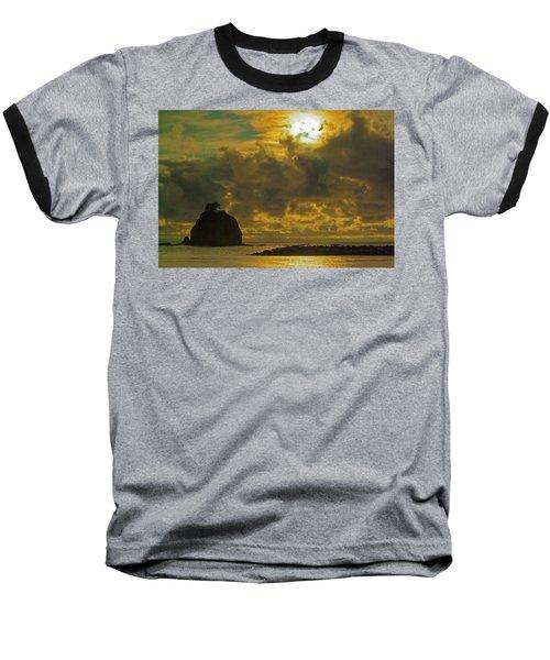 Sunset At Jones Island Baseball T-Shirt by Dale Stillman