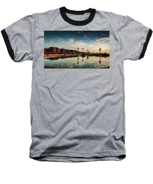 Sunset At Las Barancas Baseball T-Shirt
