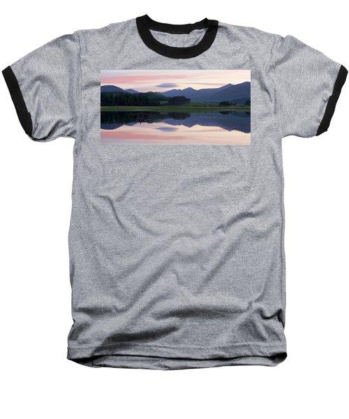 Sunset At Loch Tulla Baseball T-Shirt by Stephen Taylor