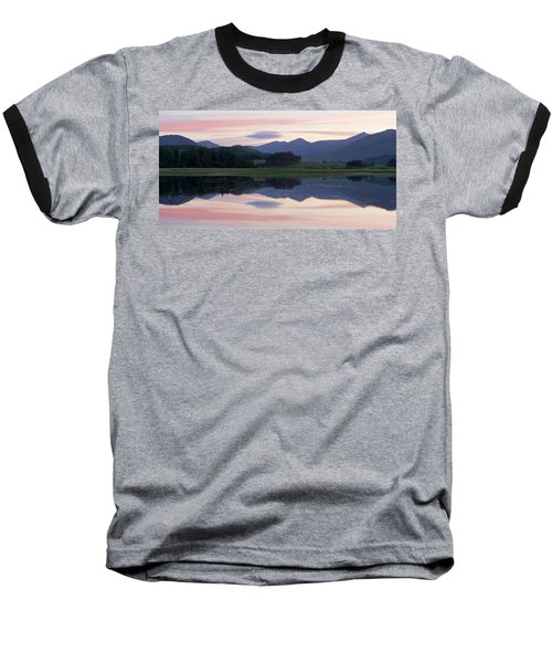 Sunset At Loch Tulla Baseball T-Shirt