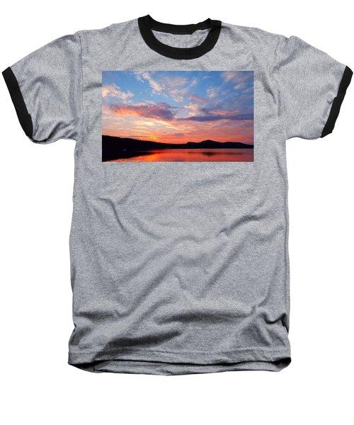 Sunset At Ministers Island Baseball T-Shirt