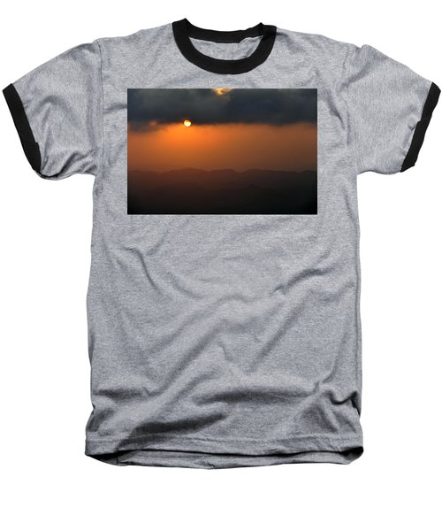 Baseball T-Shirt featuring the photograph Sunset At Mitzpe Ramon by Dubi Roman