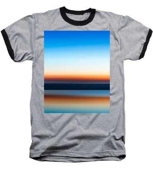 Sunset At Ottawa Lake Baseball T-Shirt