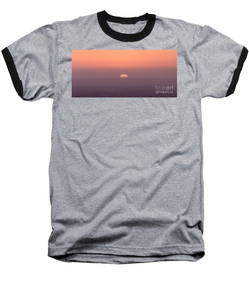 Sunset At Pacifica Baseball T-Shirt
