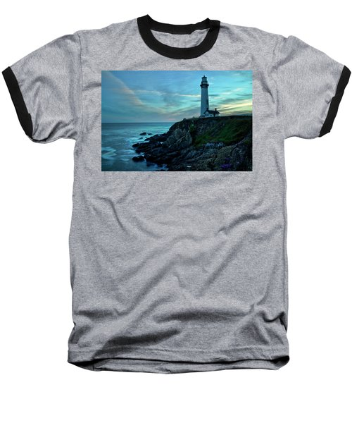 Sunset At Pigeon Point Baseball T-Shirt
