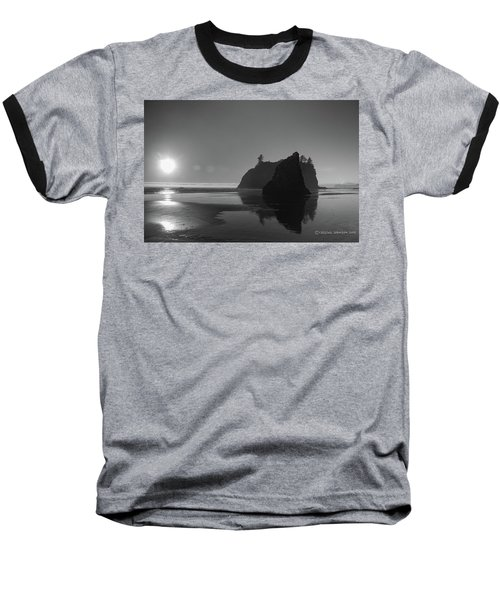 Sunset At Ruby Beach #2 Baseball T-Shirt