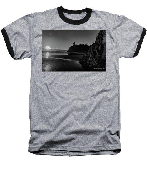 Sunset At Ruby Beach Baseball T-Shirt