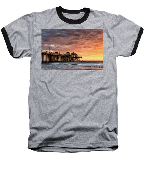 Sunset At Ruby's Baseball T-Shirt