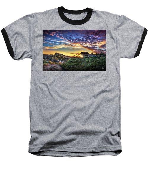 Sunset At Sage Ranch Baseball T-Shirt