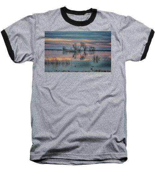 Sunset At San Luis   Baseball T-Shirt