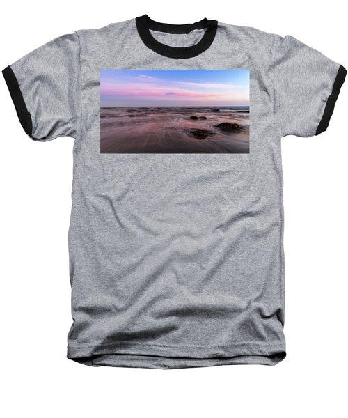 Sunset At The Atlantic Baseball T-Shirt by Andreas Levi