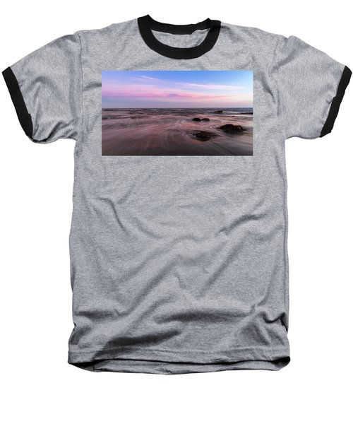 Sunset At The Atlantic Baseball T-Shirt