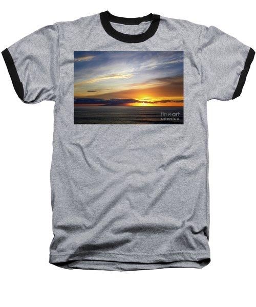 Sunset At The Canary Island La Palma Baseball T-Shirt