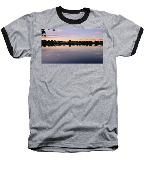 Baseball T-Shirt featuring the photograph Sunset At The Farmhouse by Monte Stevens