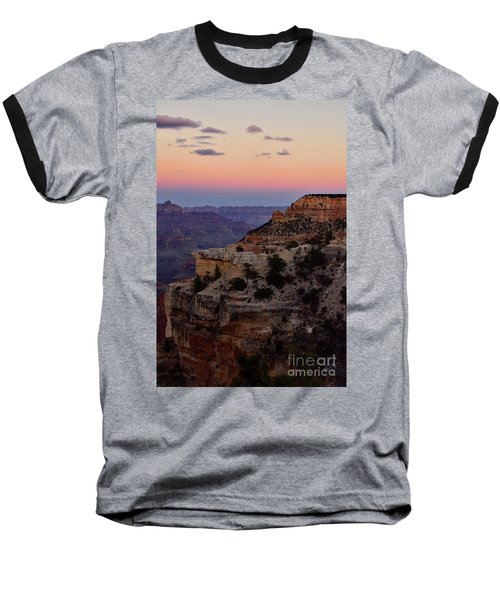 Sunset At The Grand Canyon Baseball T-Shirt