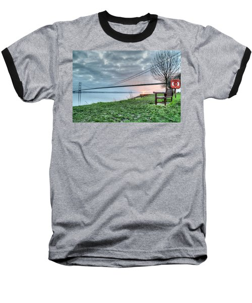 Sunset At The Humber Bridge Baseball T-Shirt