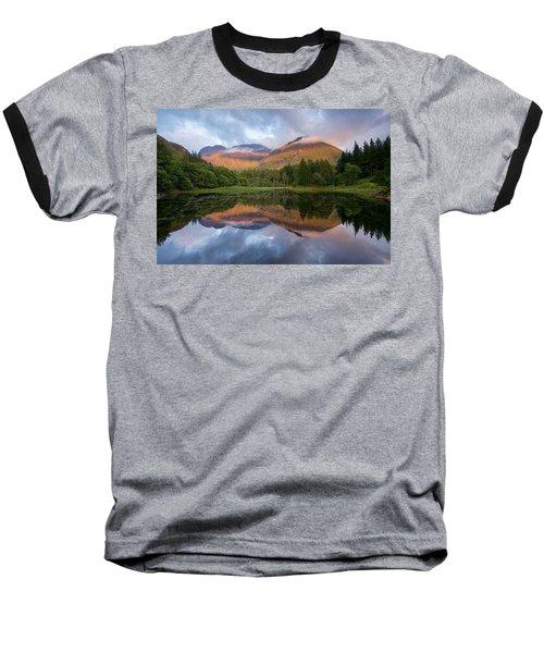 Sunset At Torren Lochan Baseball T-Shirt