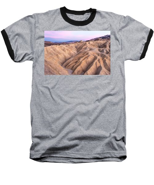 Sunset At Zabriskie Baseball T-Shirt