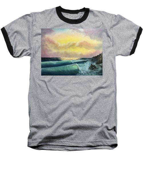 Sunset Beach Baseball T-Shirt