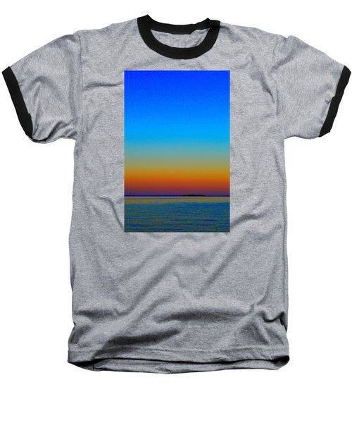 Baseball T-Shirt featuring the photograph Sunset Blend South East 3  by Lyle Crump