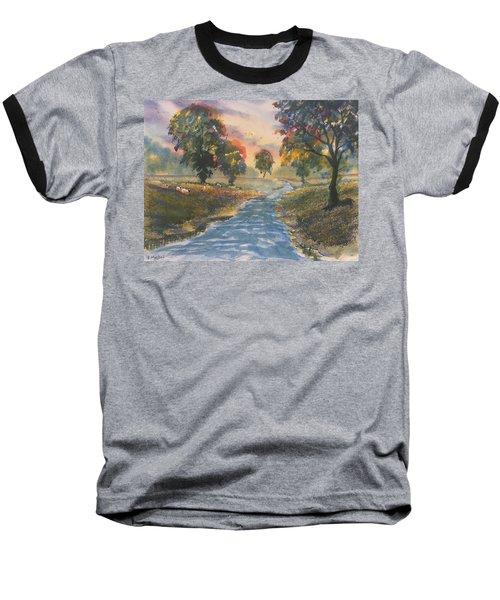 Sunset Boulevard Baseball T-Shirt