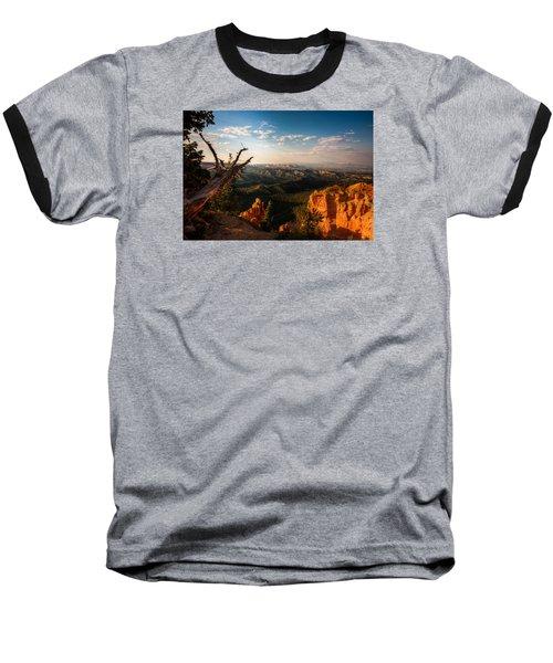 Sunset Bryce Baseball T-Shirt