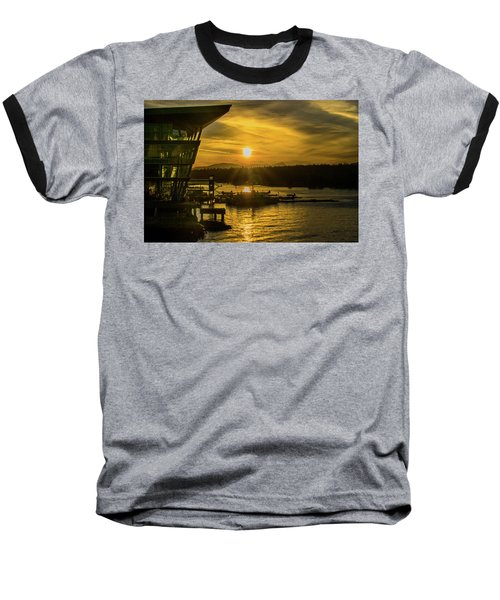 Sunset By The Convention Centre Baseball T-Shirt
