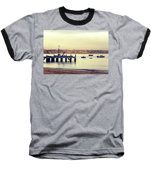 Baseball T-Shirt featuring the photograph Sunset By The Sea by Marion McCristall
