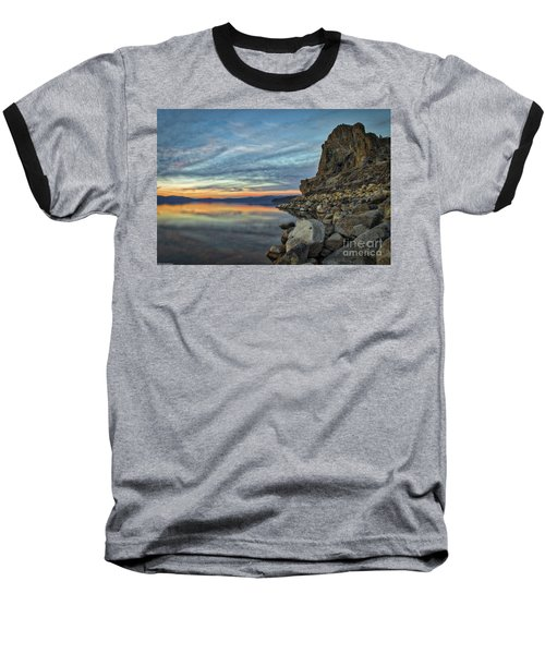Sunset Cave Rock 2015 Baseball T-Shirt