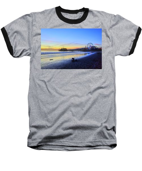 Sunset Child Baseball T-Shirt
