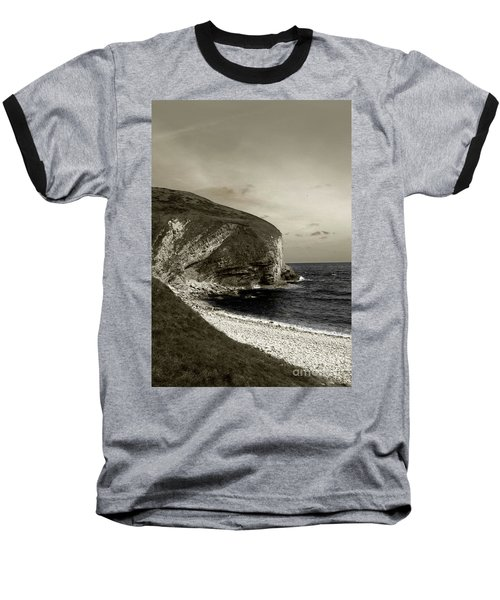 Baseball T-Shirt featuring the photograph Sunset Cliff by Sebastian Mathews Szewczyk