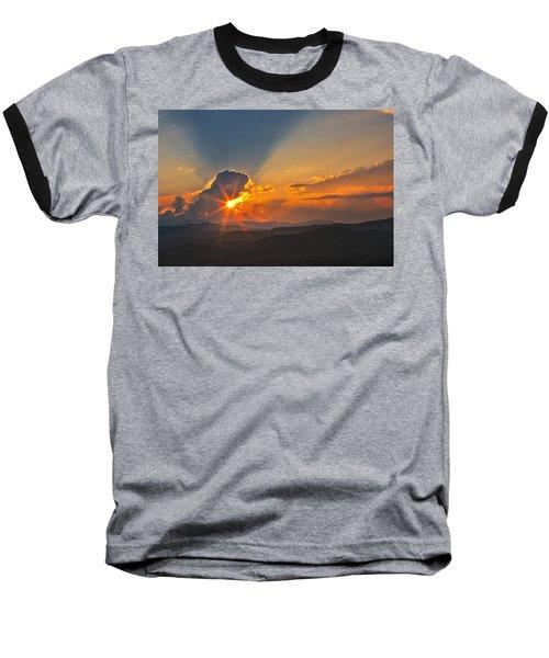 Sunset - Close Another Day Baseball T-Shirt