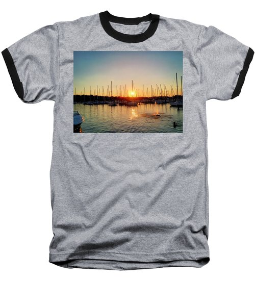 Sunset Cove 2015 Baseball T-Shirt